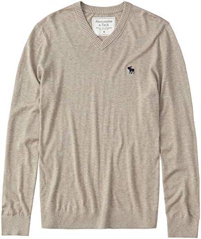 Vネックセーター Icon V-Neck Sweater オートミール [並行輸入品]
