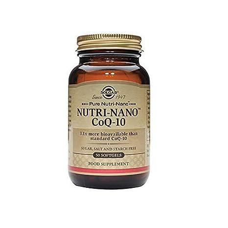 Solgar Pure Nutri-Nano CoQ-10 3.1x Cápsulas blandas - Envase de 50: Amazon.es: Salud y cuidado personal