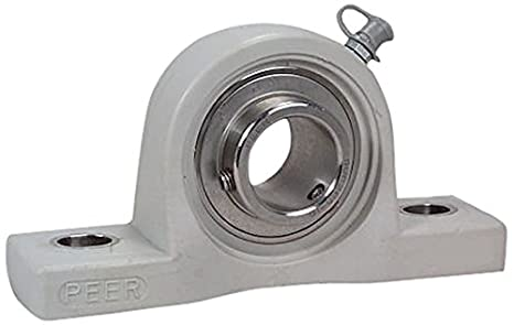 "NEW SAPP206-19 High Quality 1-3//16/"" Eccentric Pressed Steel Pillow Block Bearing"