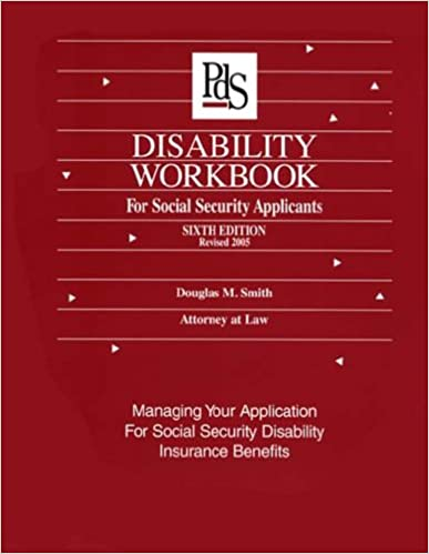 Amazon com: Disability Workbook for Social Security Applicants