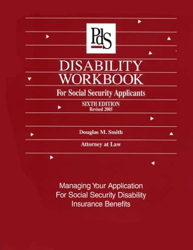 Download Disability Workbook for Social Security Applicants: Managing Your Application for Disability Insurance Benefits Pdf
