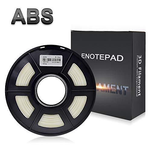 ABS 3D Filament,White,3D Printer Filament,1.75 mm,Dimensional Accuracy