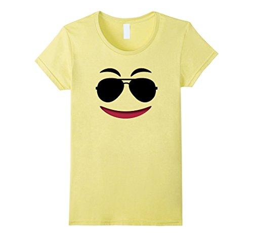 Womens Halloween Emoji Theme Shirt for Team Family Teachers Group Medium (Group Theme Halloween Costumes)