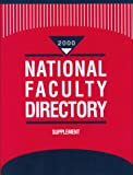 National Faculty Directory, Gale Group, 0787633798