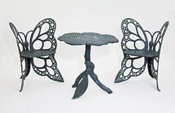 butterfly bistro set antique