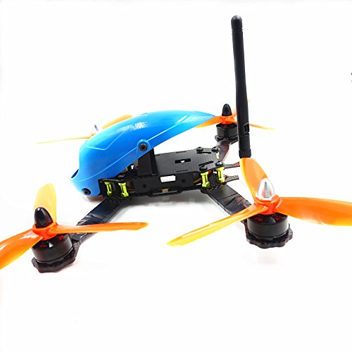 Lieber Newest 4-Axis RC Toy Drone HAWK210MM Quadcopter UAV Drone with HD Camera & SP Racing F3 Flight Control --Blue