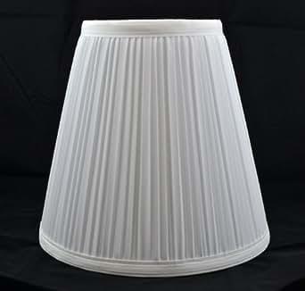 Urbanest 1101484 Off White Mushroom Pleated Hardback Lamp