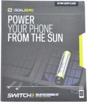 Unisex Goal Zero Switch 8 Solar Recharging Kit Solar Recharger Kit 1 Pc - Product Description - Unisex Goal Zero Switch 8 Solar Recharging Kit Solar Recharger Kit 1 Pcequipped With The Goal Zero Switc...