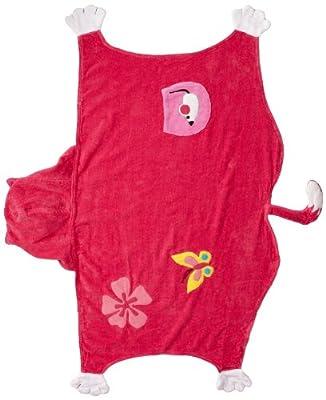 Kidorable Little Girls' Lucky Cat Towel