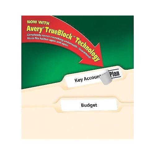 avery 5366 file folder labels