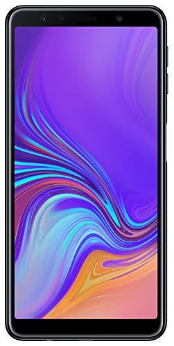 Samsung Galaxy A7 (2018) Dual-SIM SM-A750FN/DS 64GB (GSM Only, No CDMA) Factory Unlocked 4G Smartphone - International Version (Black)