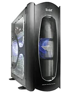 Thermaltake VD4000BWS Kandalf Case with Build in Liquid Cooling Kit and Window