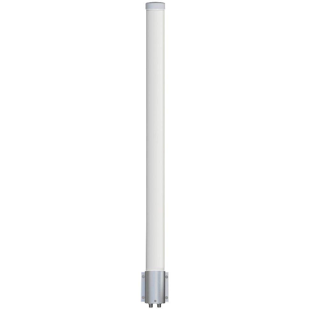 Altelix 2.4 GHz 12 dBi WiFi 2 Port MIMO Omni Antenna for Ubiquiti RocketM2, MikroTik BaseBox2 & Cambium ePMP