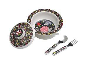 Sugarbooger Covered Suction Bowl Gift Set, Hedgehog