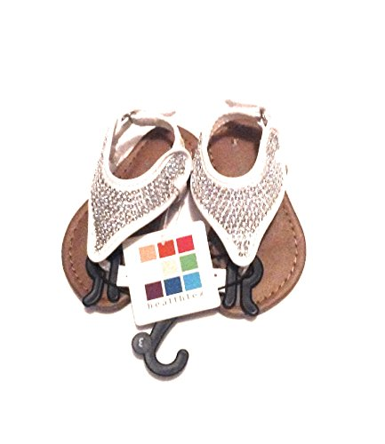 Healthtex Shiney Silver Infant Sandals, Size - Shiney Silver
