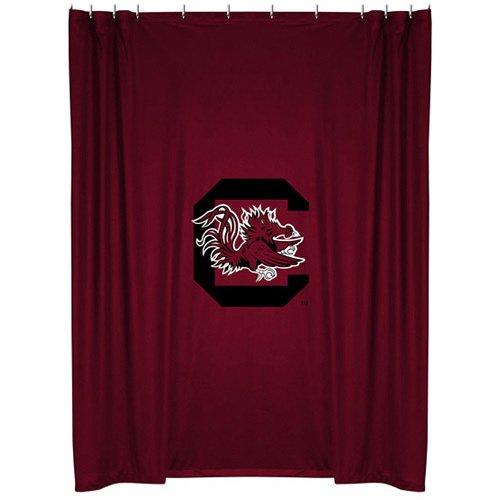 NCAA South Carolina Gamecocks 72'' x 72'' Garnet Shower Curtain (Curtain Shower Gamecocks Carolina South)