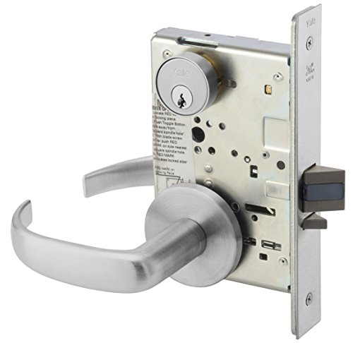 Yale PBR 8808FL 626 Heavy Duty Mortise Lever Lockset, Classroom, Pacific - Lever Set Classroom