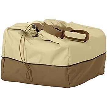 Classic Accessories Veranda Portable Rectangular Table Top Grill Cover & Carry Bag