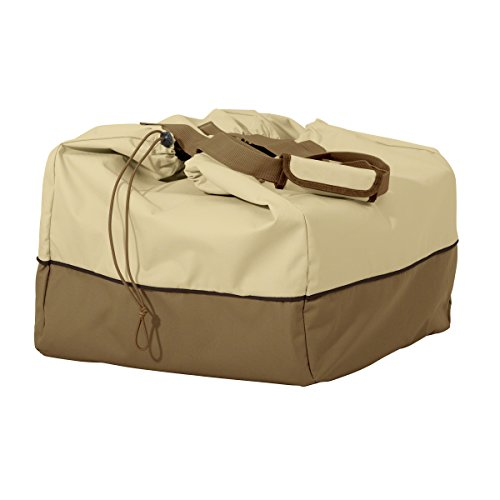 Classic Accessories 55-974-031501-00 Veranda Portable Rectangular Table Top Grill Cover & Carry Bag