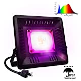 150W New COB LED Plant Light,IP67 Waterproof LED Grow Light Full Spectrum,Natural Heat Dissipation Without Noise Suitable for Outdoor/Indoor Plants All Growing, Like Vegetables,Succulents,Flowers