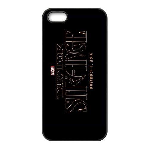 Doctor Strange 003 coque iPhone 5 5S cellulaire cas coque de téléphone cas téléphone cellulaire noir couvercle EOKXLLNCD23262
