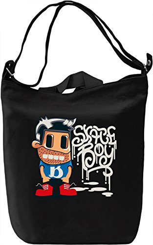 Skate boy Borsa Giornaliera Canvas Canvas Day Bag| 100% Premium Cotton Canvas| DTG Printing|