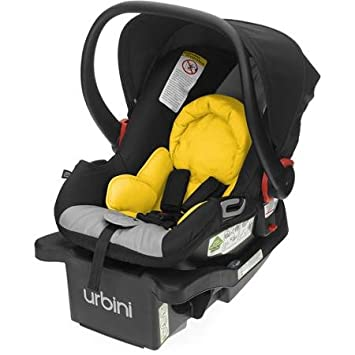 Safe Lightweight And Easy To Install Urbini Petal Infant Car Seat With Side Impact Protection