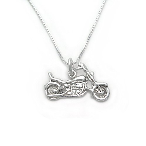 Sterling Silver Motorcycle - 6