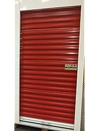 durodoors janus self storage 750 series wind rated steel rollup