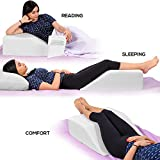 Leg Elevation Pillow - with Memory Foam
