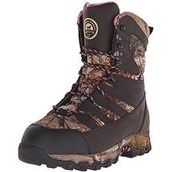 "Irish Setter Women's 2889 LadyHawk Waterproof 2000 Gram 9"" Big Game Hunting Boot, Brown/Realtree AP Camouflage, 10.5 B(M) US"