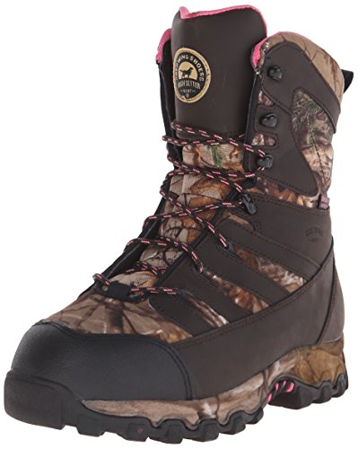 Irish Setter Women's 2889 LadyHawk Waterproof 2000 Gram 9'' Big Game Hunting Boot, Brown/Realtree AP Camouflage, 10.5 B(M) US by Irish Setter