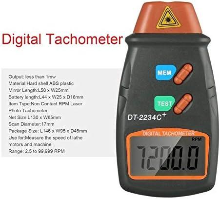 Tachym/ètre laser photo num/érique TPM sans contact Tachym/ètre laser tachym/ètre laser de jauge de vitesse