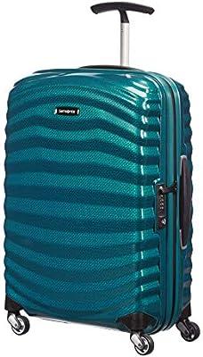 e9992e339 Samsonite - Lite-Shock Spinner 55 cm, Azul (Petrol Blue): Amazon.es ...