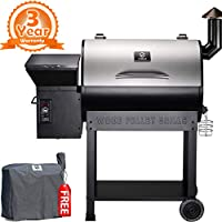 Z Grills Wood Pellet Grill & Smoker, BBQ Grill made by  epic Z Grills