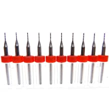 2.05mm Carbide Micro Drill Bits Circuit Boards FR4 CNC PCB Circuit Board Production Modeling Aluminum more.. High Performance High Speed Dremel Drill Press Best Quality Drill Bits 1//8 3.175mm Shank