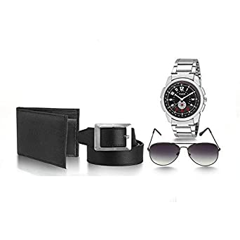 c35ebdcb246 Buy Timer Stylish Combo Pack of Watch Along with 1 Leather Wallet