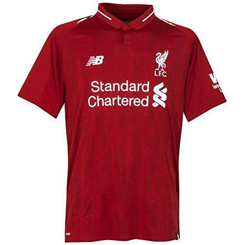 New Balance Youth Liverpool FC 2018-19 Home Soccer Jersey (Large) (Pepper Red)
