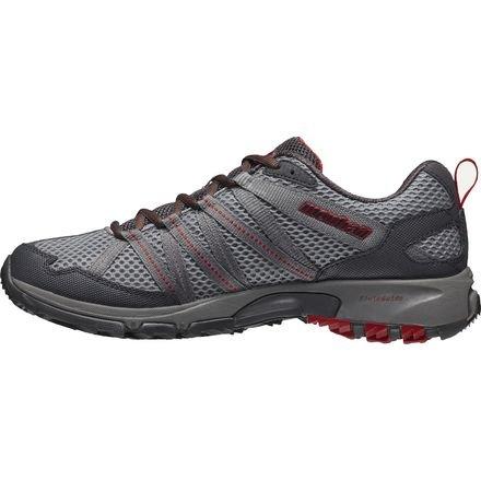 Montrail Men's Masochist III Mountain Running Shoe, Light Grey/Rocket, 7 M US MOUNTAIN MASOCHISTTM III-M