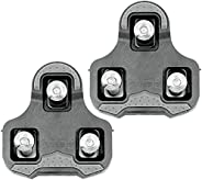 HEPINGJIANGENBO ZERAY SP-110 Bike Cleats Compatible with Keo Structure & Keo Pedals with