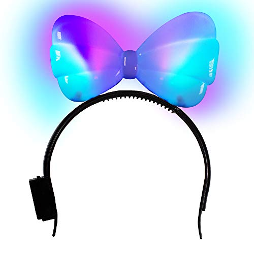LED Light-up Bow Headband for Girls