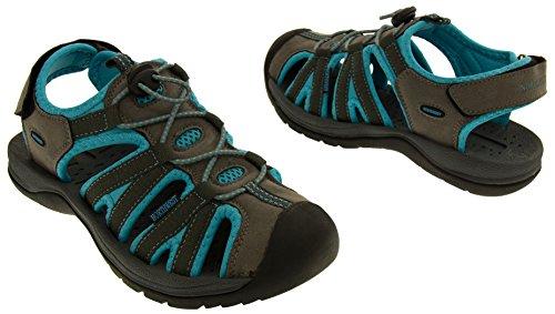 Northwest Territory Damas de Senderismo y Zapatos Azul