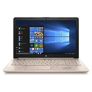 HP 15-da1010ne Laptop, Intel Core i7-8565U, 15.6 Inch, 1TB, 4GB RAM, NVIDIA GeForce MX130(4GB GDDR5), Win 10, Eng-Ara KB, Gold