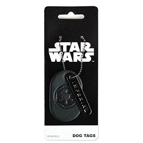 Star Wars Imperial Military Dog Tag (Star Wars Imperial Necklace compare prices)