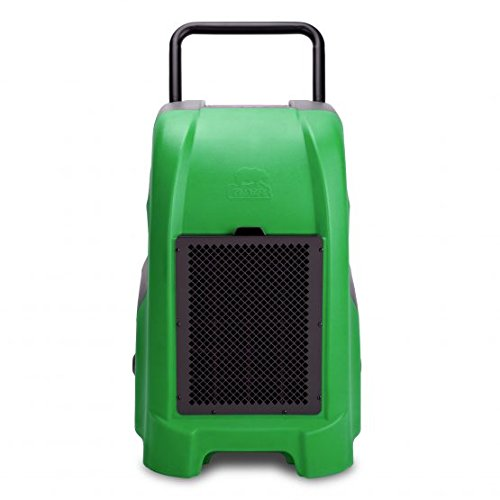 B-Air Vantage1500 Industrial Commercial Dehumidifier for Pro Water Damage Restoration Equipment in Basements, Houses, and Other Work Sites, Green