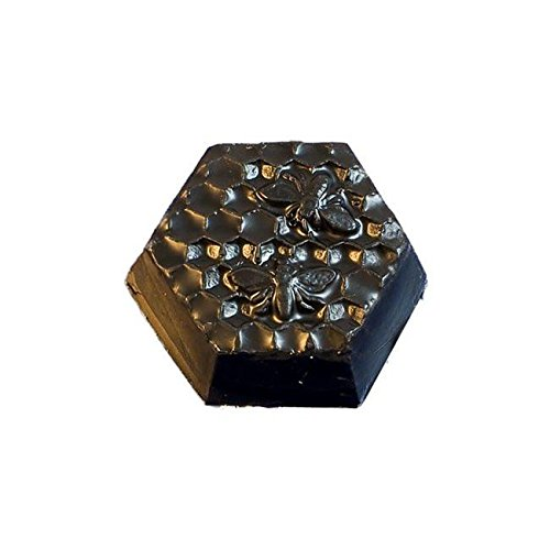 BestPysanky Set of 24 Pieces of Black Beeswax Strips 6 Inches