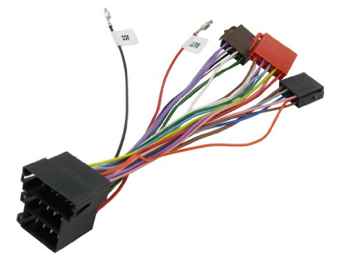 XtremeAuto® ISO Wiring Harness Loom Adapter for: Amazon.co.uk: Electronics