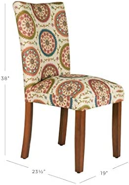 home, kitchen, furniture, kitchen, dining room furniture,  chairs 9 picture HomePop Parsons Upholstered Accent Dining Chair, Set of deals