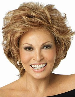 Human Hair Applause by Raquel Welch Wigs Lace Front Monofilament Top - R10 Chestnut Brown by Hair u wear