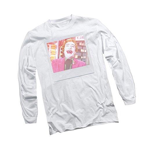 Polaroid Shot -- Batman TV Show Adult Long-Sleeve T-Shirt, Large